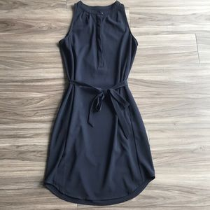 Banana Republic Navy Sleeveless Dress w Pockets 0